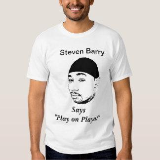 Steven Barry Promo Tee Shirt
