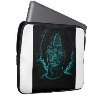 Steven Blue Face Laptop Computer Sleeve