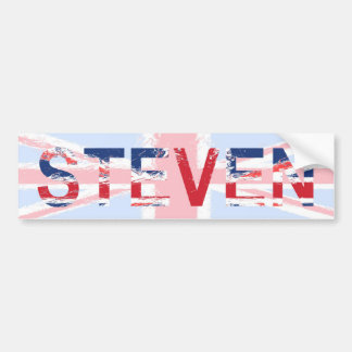 Steven Car Bumper Sticker