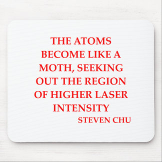 steven chu quote mouse pad