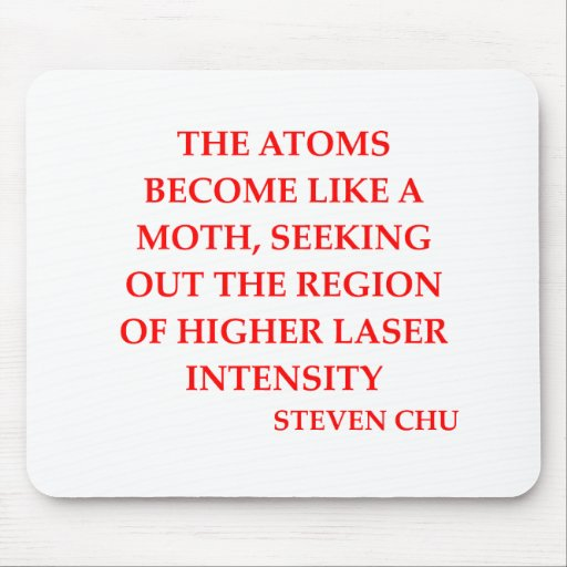 steven chu quote mousepads