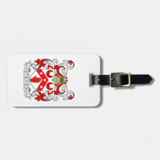 Steven Coat of Arms Tag For Bags