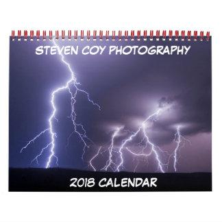 Steven Coy Photography 2018 Calendar