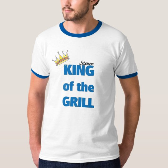 Steven King of the grill T-Shirt