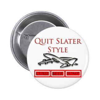 Steven Slater Flight Attendant Gifts Pinback Button