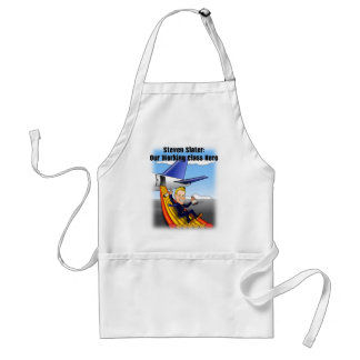 Steven Slater: Our Working Class Hero Adult Apron