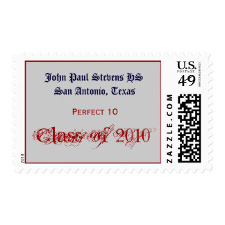 Stevens Class of 2010 Postage