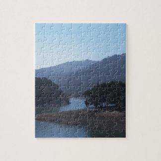 Steven's Creek Reservoir Jigsaw Puzzle
