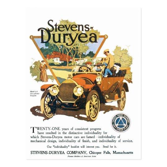 Stevens Duryea Company Postcard