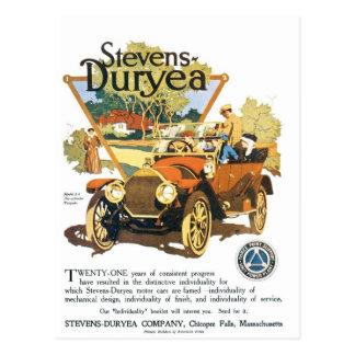 Stevens Duryea Company Postales