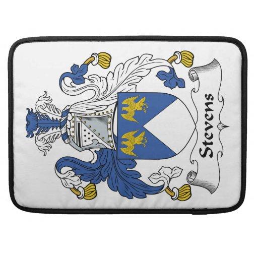 Stevens Family Crest MacBook Pro Sleeve