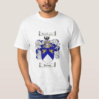 Stevens Family Crest - Stevens Coat of Arms T-Shirt