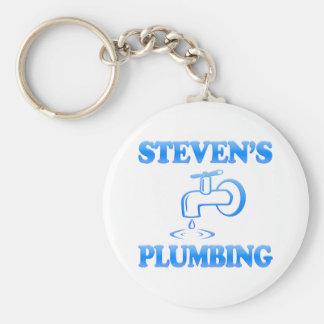 Steven's Plumbing Keychain
