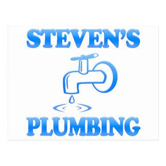 Steven's Plumbing Postcard