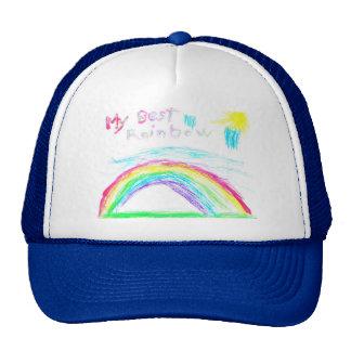 Steven's Rainbow Hats