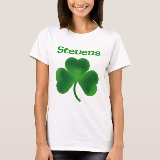 Stevens Shamrock T-Shirt