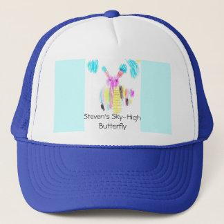 Steven's Sky-High Butterfly Trucker Hat