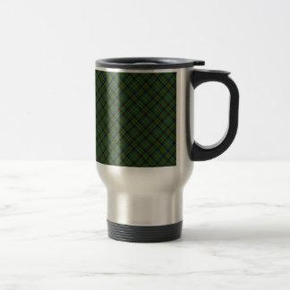 Stevenson Clan Tartan Designed Print Stainless Steel Travel Mug