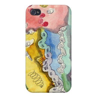 Steve's Abstract Doodle Case For iPhone 4
