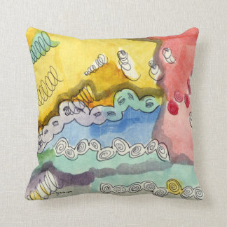 Steve's Abstract Doodle Throw Pillow