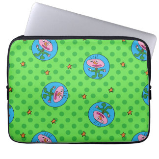 steve's guy laptop sleeve with lots of guys