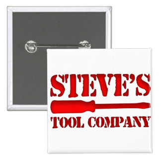 Steve's Tool Company 2 Inch Square Button