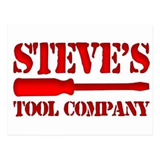 Steve's Tool Company Postcard