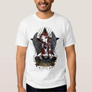 Stevie Super Star Angel Myka Jelina Art T-Shirt