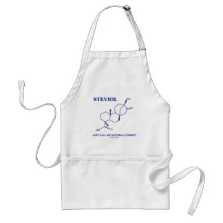 Steviol (Chemistry) Just Call Me Naturally Sweet Adult Apron