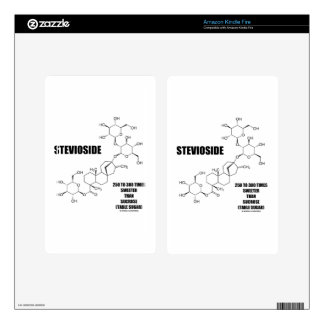 Stevioside 250 To 300 Times Sweeter Than Sucrose Kindle Fire Decal
