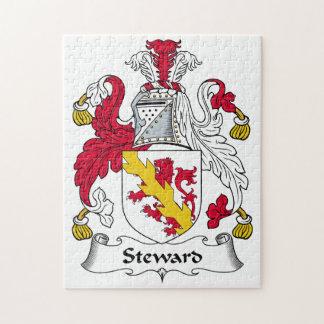 Steward Family Crest Jigsaw Puzzle