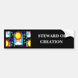 STEWARD OF CREATION BUMPER STICKER