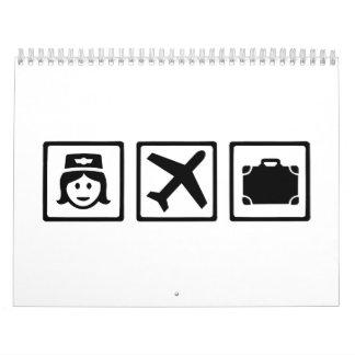 Stewardess Calendar