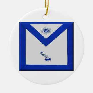 Stewards Apron Ceramic Ornament