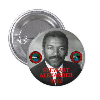 Stewart Alexander 2012 Pinback Button
