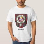 Stewart Clan Crest Badge Tartan T-Shirt