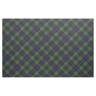 Stewart clan Hunting Plaid Scottish tartan Fabric