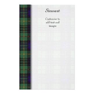 Stewart clan Hunting Plaid Scottish tartan Flyer