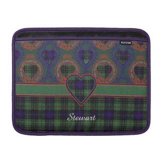 Stewart clan Hunting Plaid Scottish tartan MacBook Sleeves
