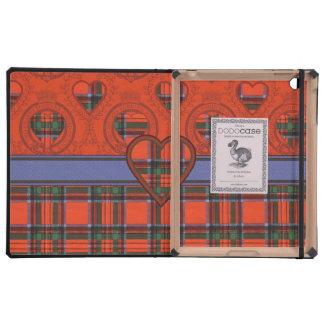 Stewart clan Plaid Scottish tartan iPad Folio Case