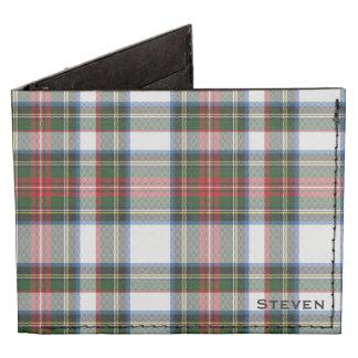 Stewart Dress Plaid Custom Wallet Tyvek® Billfold Wallet