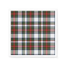 Stewart Dress Tartan Plaid Paper Napkins