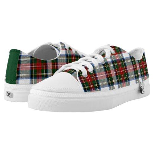 Stewart Dress Tartan Plaid Tennis Shoes