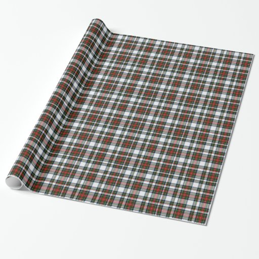 Stewart Dress Tartan Plaid Wrapping Paper