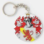 Stewart (English) Coat of Arms Keychain