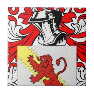Stewart (English) Coat of Arms Tile