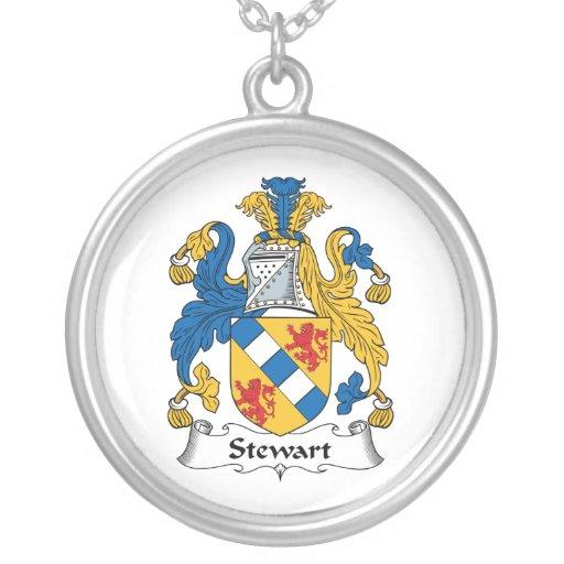 Stewart Family Crest Pendant