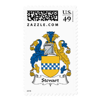Stewart Family Crest Stamps