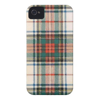 STEWART FAMILY DRESS TARTAN iPhone 4 CASE