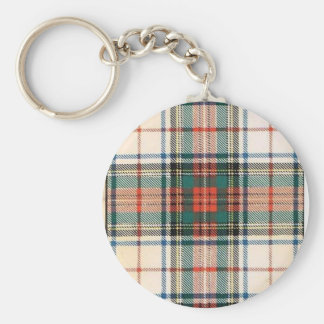 STEWART FAMILY DRESS TARTAN KEYCHAIN